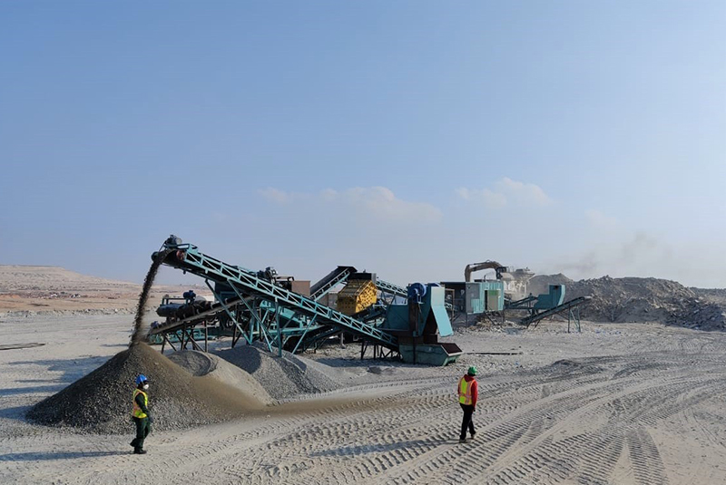 Tadweer reopens Ghayathi crusher in Al Dhafra Region