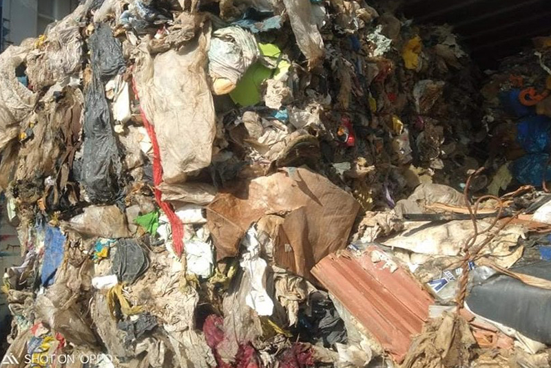 Illegal dumping of mixed municipal waste in Tunisia by Italian company