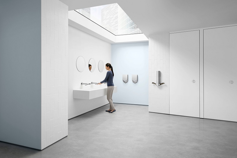 Futureproof your workplace with Dyson Airblade hand dryer technology