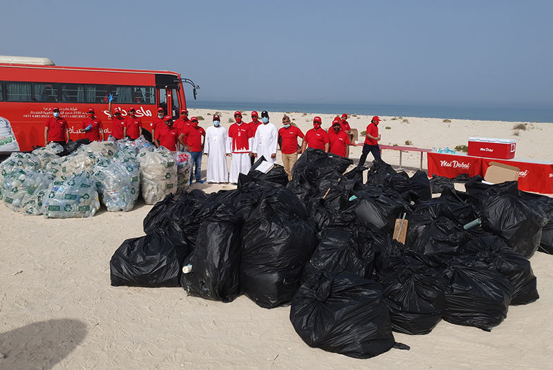 Mai Dubai and Dubai Municipality partner for cleanliness drive