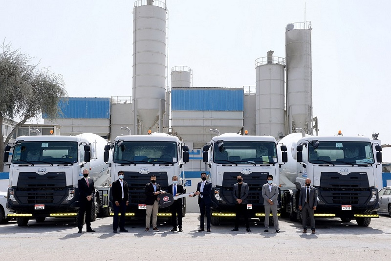 Al Masaood Commercial Vehicles & Equipment signs major deal with Gulf Ready Mix