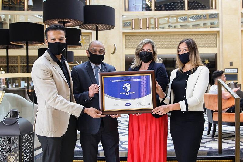 The H Dubai receives Diversey Clean & Ready Shield