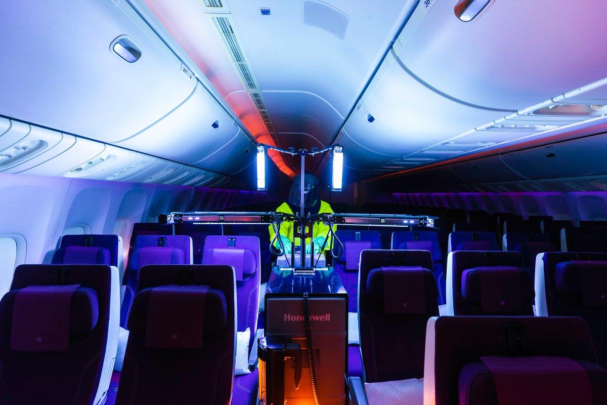 Qatar Airways Takes Aircraft Sanitation To Futuristic New Heights