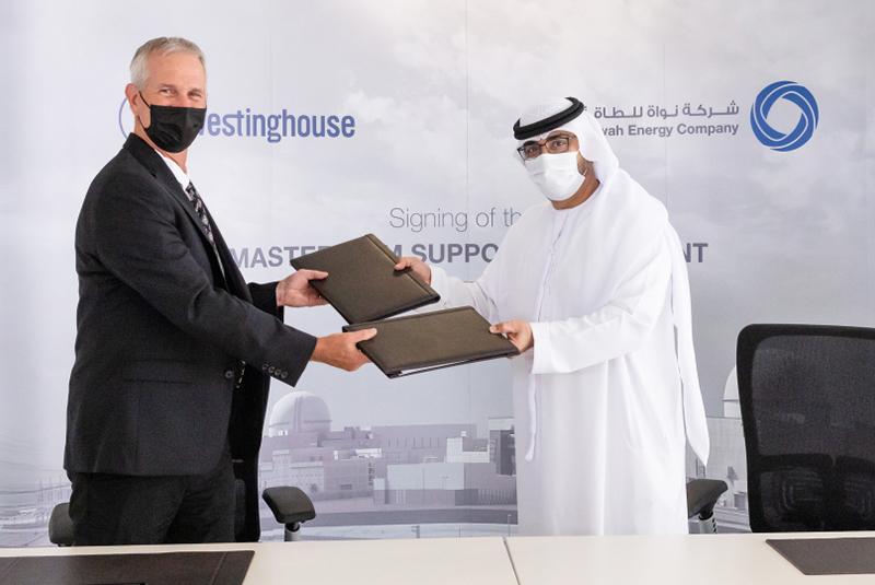 ENEC's JV subsidiary, Westinghouse sign 5-year maintenance contract for UAE's Barakah Nuclear Energy Plant