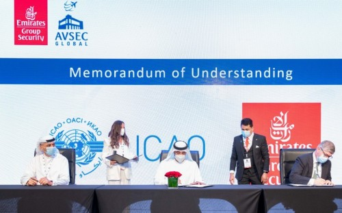 Emirates Group Security and ICAO sign MoU