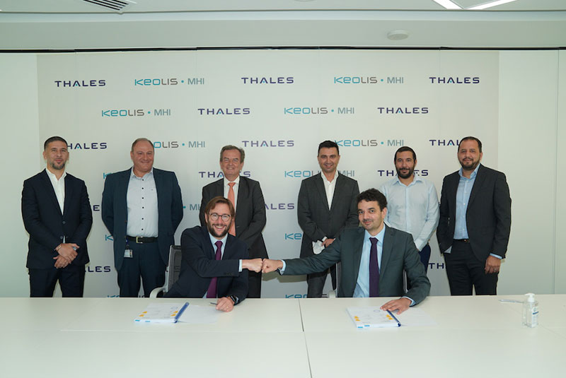 Thales awarded a new maintenance contract by Keolis-MHI for the Dubai Metro