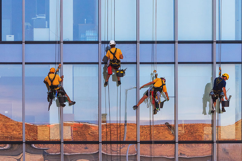 Tapping into facade cleaning technologies