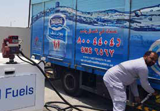 Nestlé Waters introduces biofuel blend to its Dubai trucks distribution fleet