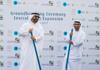 Envirol breaks ground on expansion of recycling facility in Dubai