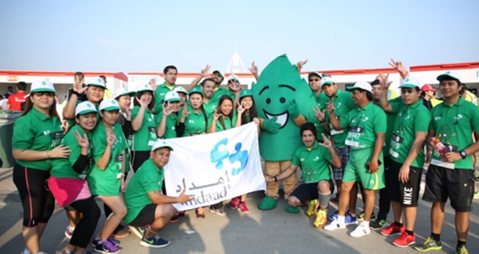 Imdaad highlights significance of waste management at Standard Chartered Dubai Marathon 2016