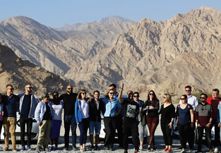 Electric Vehicle Road Trip to Jebel Jais