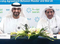 Masdar, Bee'ah sign partnership agreement on waste-to-energy initiatives in the Middle East
