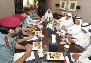 Sharjah Chamber, Sharjah Police discuss used car trade sector topics