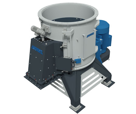 Cross-flow shredder for biogas facilities from Andritz MeWa