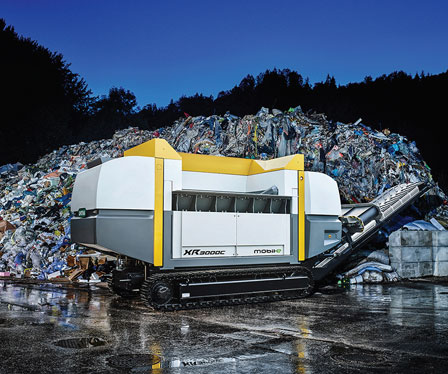 Untha launches first electrically-driven mobile shredder