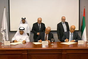 Sharjah Municipality, Sharjah Research Academy and University of Sharjah sign agreement for research project for reusing treated wastewater