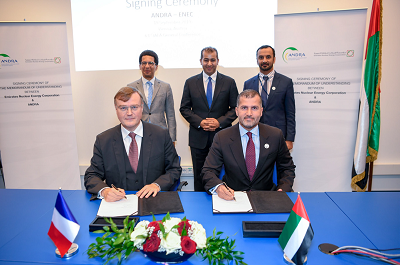 ENEC signs MoU with Andra