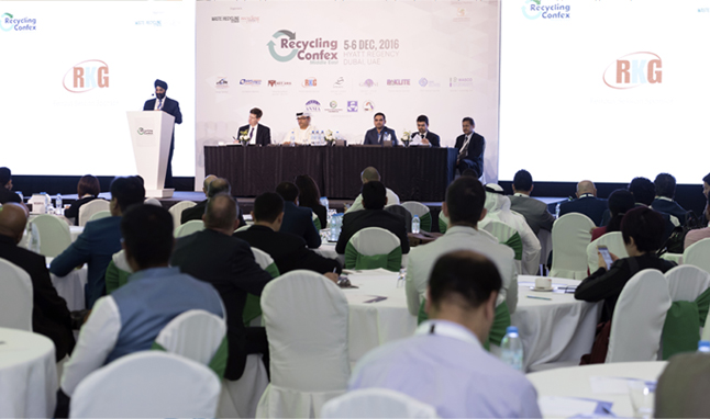 International Recycling Industry gathers in Dubai for Recycling Confex Middle East