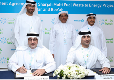 Bee'ah, Masdar to build 300,000 tonne waste-to-energy plant in Sharjah