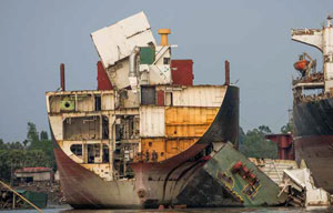 First Report from Ship Recycling Transparency Initiative
