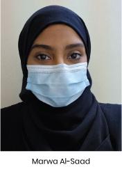 Marwa Al-Saad, Infection Control Educator
