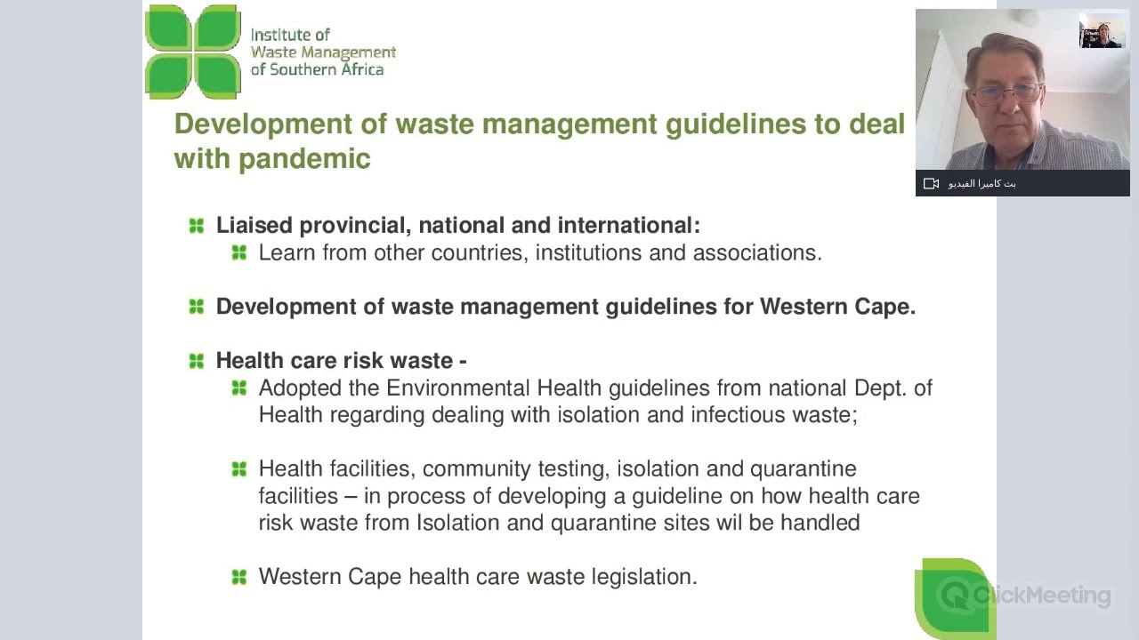 Waste management\'s response to COVID-19