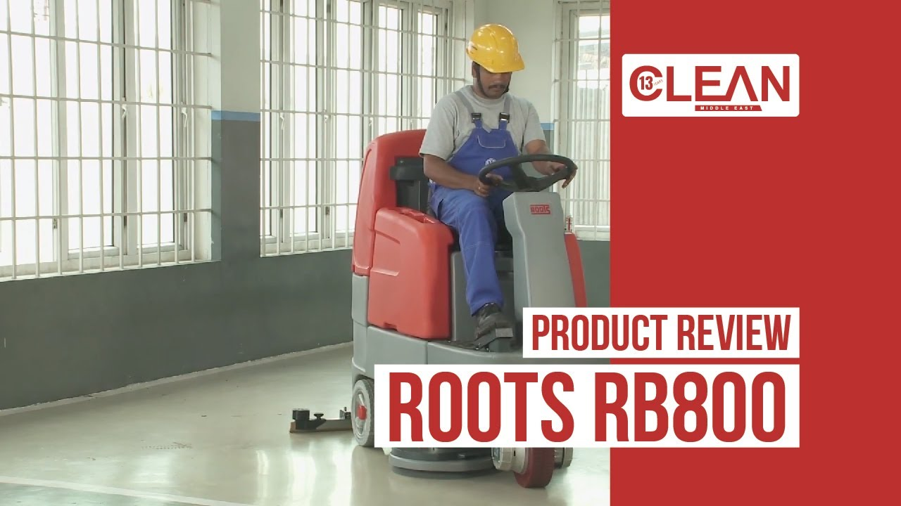 Roots RB800 Scrubber Dryer | Product Review