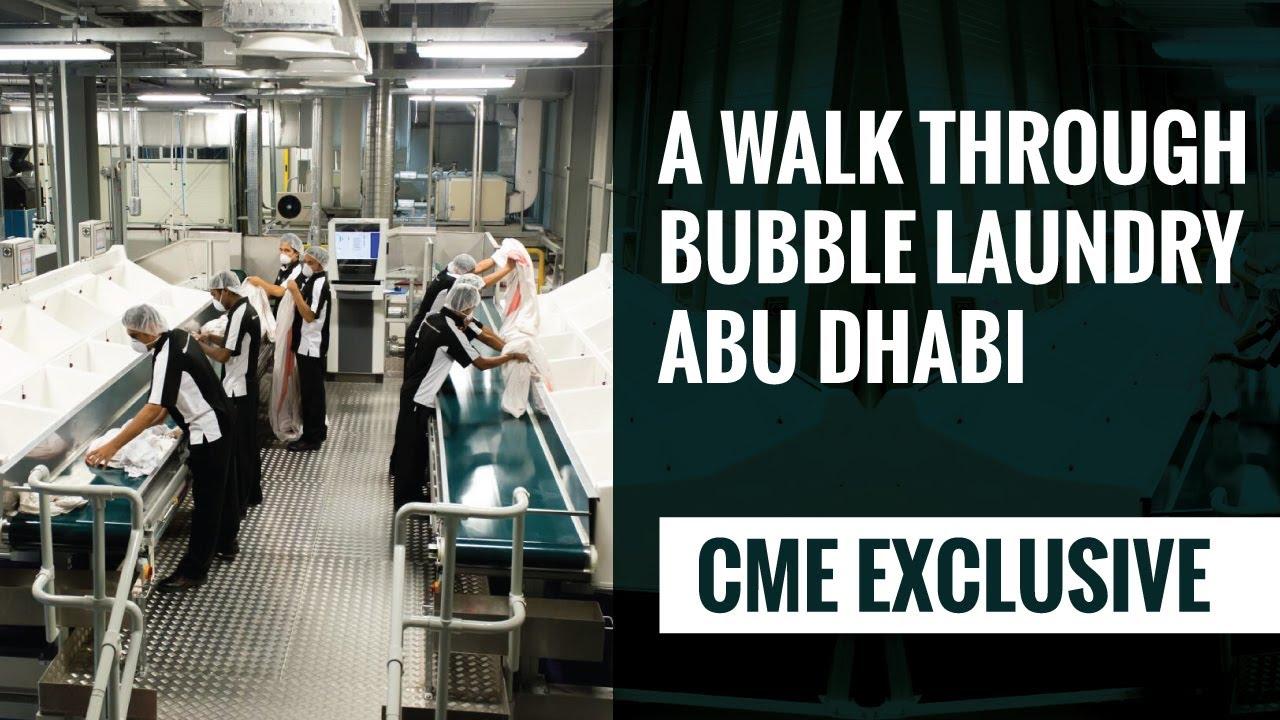 A walk through Bubble Laundry, Abu Dhabi
