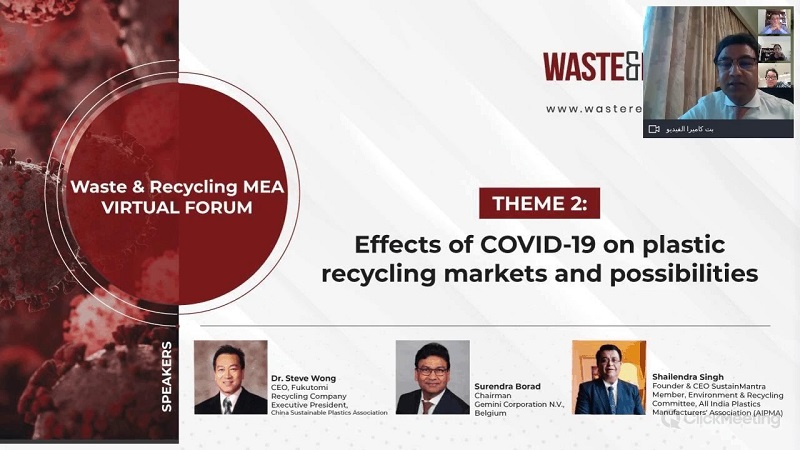Effects of COVID-19 on Plastics Recycling markets & possibilities