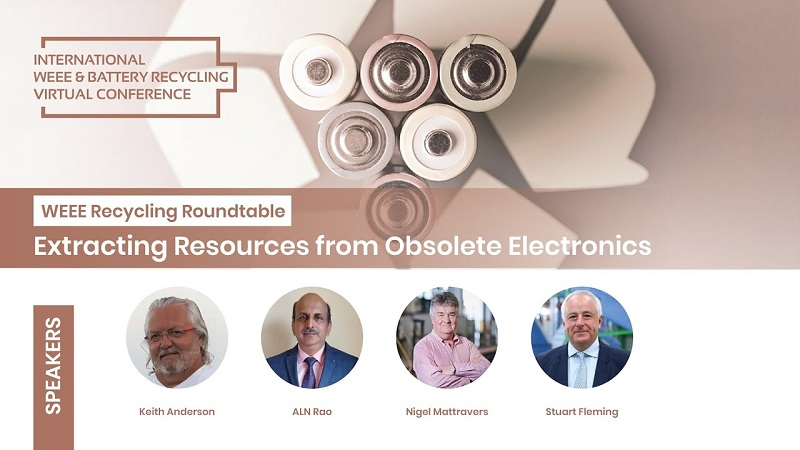WEEE Recycling Roundtable: Extracting Resources from Obsolete Electronics