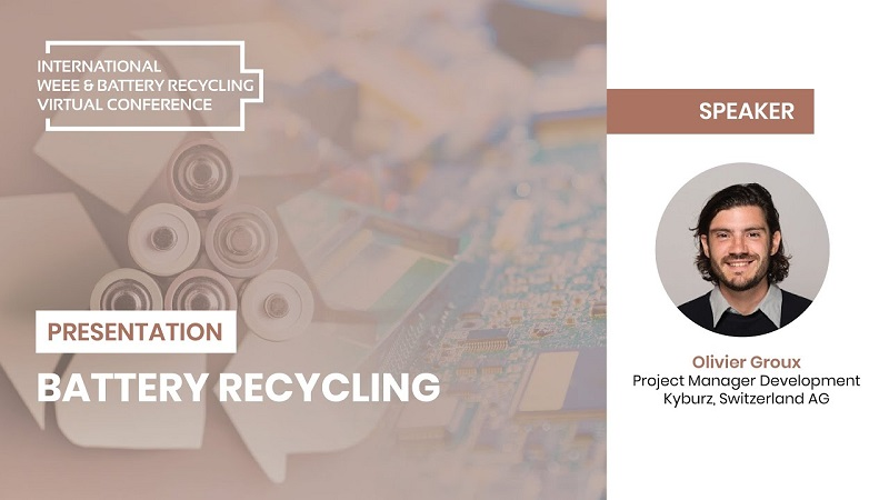 Presentation: Up Close An Emerging Recycling Technology for the EV Future