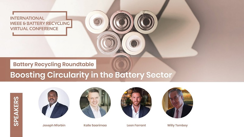 Battery Recycling Roundtable: Boosting Circularity in the Battery Sector