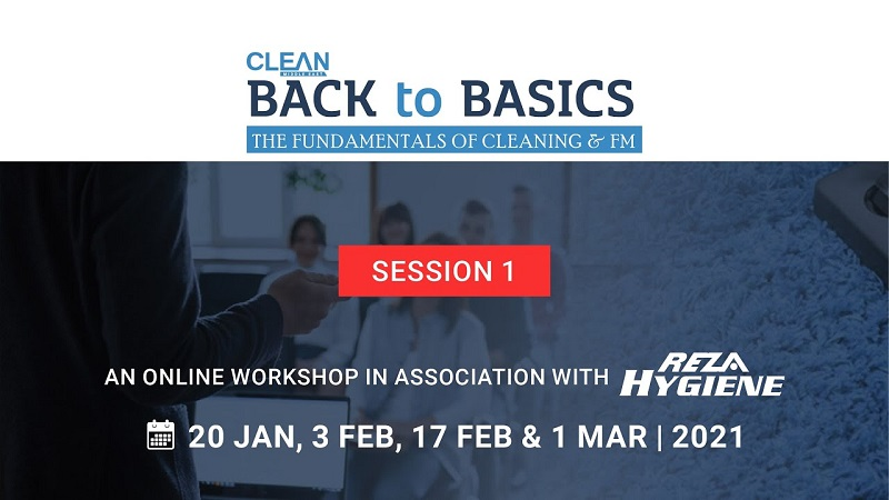 [Workshop] Back to Basics: Fundamentals of Cleaning & FM | Session 1